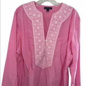 Land's End Embroidered Tunic